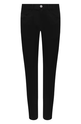 Мужские джинсы MONCLER черного цвета, арт. F2-091-2A728-10-54A2A | Фото 1