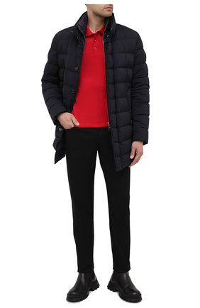 Мужские джинсы MONCLER черного цвета, арт. F2-091-2A728-10-54A2A | Фото 2