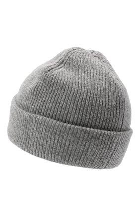 Женская шерстяная шапка ACNE STUDIOS серого цвета, арт. C40075/W   Фото 2