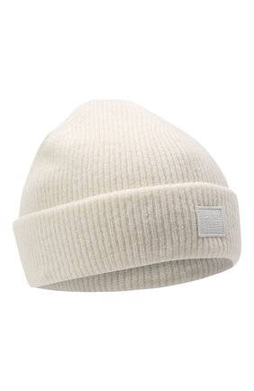 Женская шерстяная шапка ACNE STUDIOS белого цвета, арт. C40075/W | Фото 1