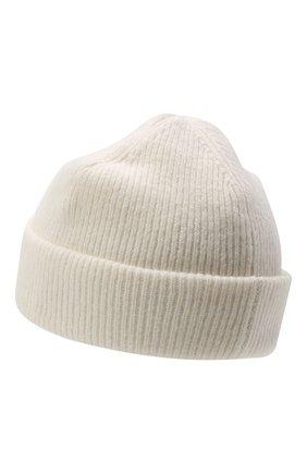 Женская шерстяная шапка ACNE STUDIOS белого цвета, арт. C40075/W | Фото 2