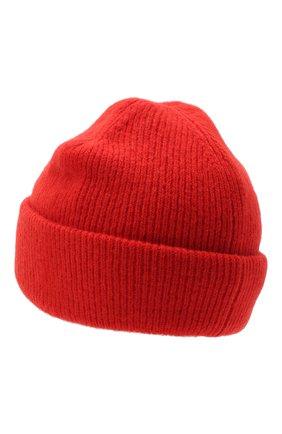 Женский шерстяная шапка ACNE STUDIOS красного цвета, арт. C40075/W | Фото 2