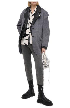 Женские джинсы ACNE STUDIOS черного цвета, арт. A00157 | Фото 2