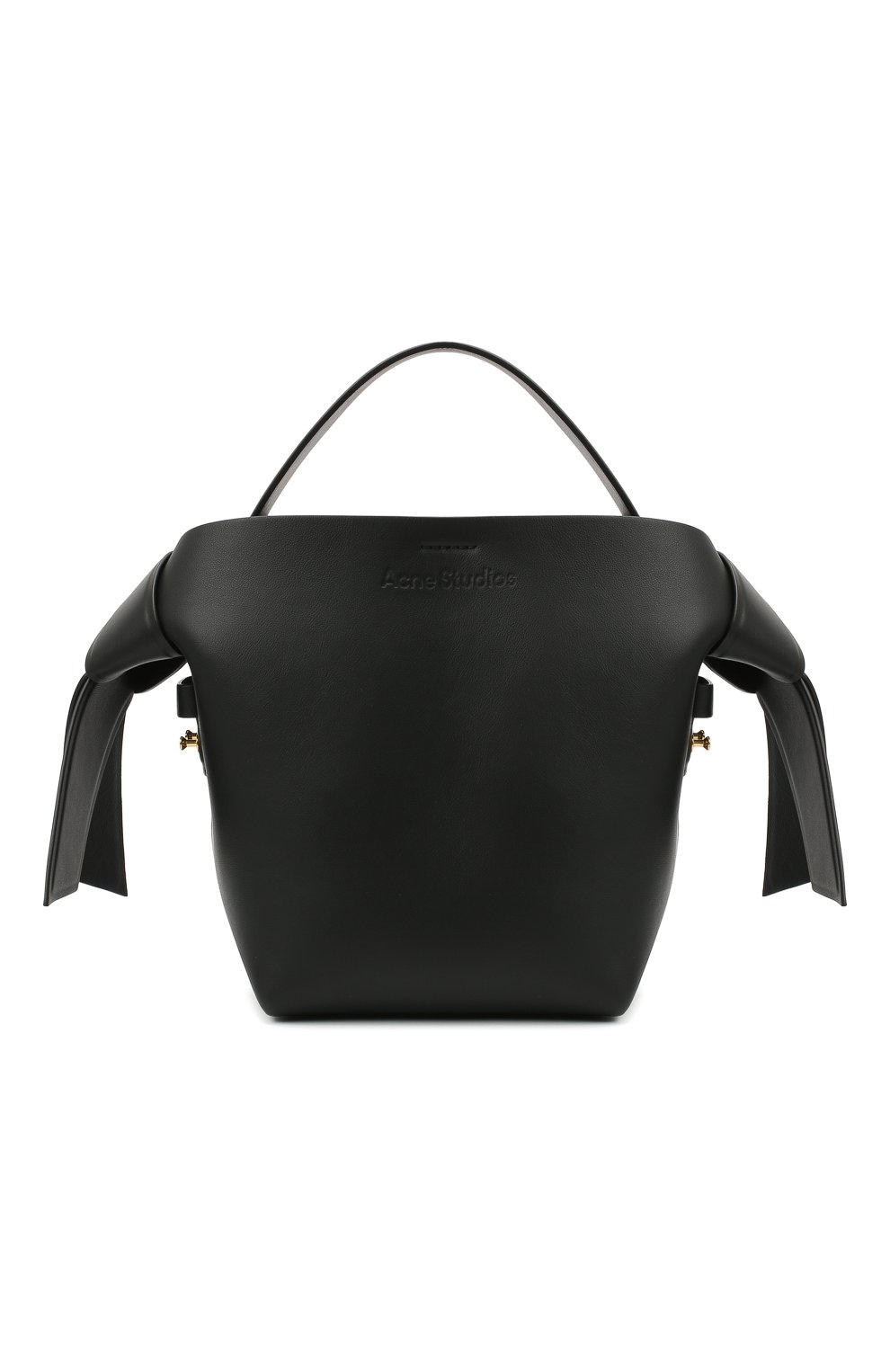 Женская сумка musubi mini ACNE STUDIOS черного цвета, арт. A10093 | Фото 1