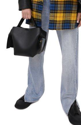 Женская сумка musubi mini ACNE STUDIOS черного цвета, арт. A10093 | Фото 2