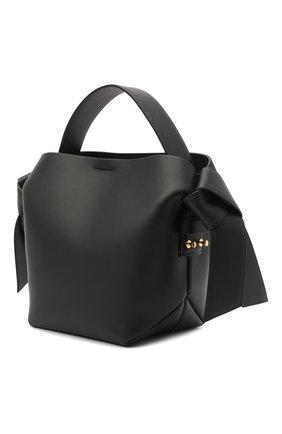 Женская сумка musubi mini ACNE STUDIOS черного цвета, арт. A10093 | Фото 3