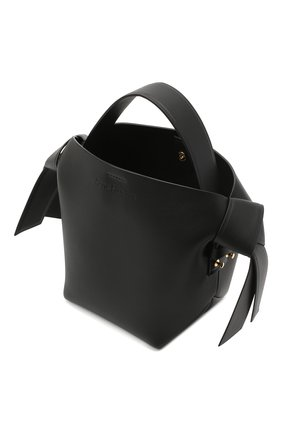 Женская сумка musubi mini ACNE STUDIOS черного цвета, арт. A10093 | Фото 4