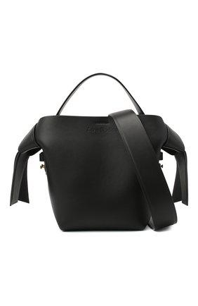 Женская сумка musubi mini ACNE STUDIOS черного цвета, арт. A10093 | Фото 6