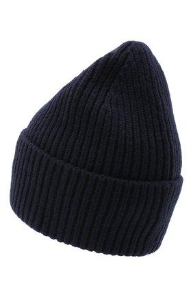 Женский шерстяная шапка ACNE STUDIOS синего цвета, арт. C40102/W | Фото 2