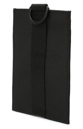 Женский текстильный футляр для кредитных карт ACNE STUDIOS черного цвета, арт. C80037/W | Фото 2