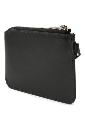 Женские кожаный кошелек для монет ACNE STUDIOS черного цвета, арт. CG0100/W | Фото 2