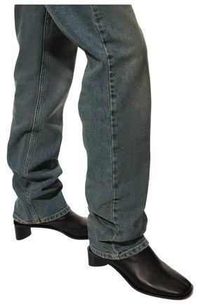Женские кожаные ботильоны ACNE STUDIOS черного цвета, арт. AD0313 | Фото 3