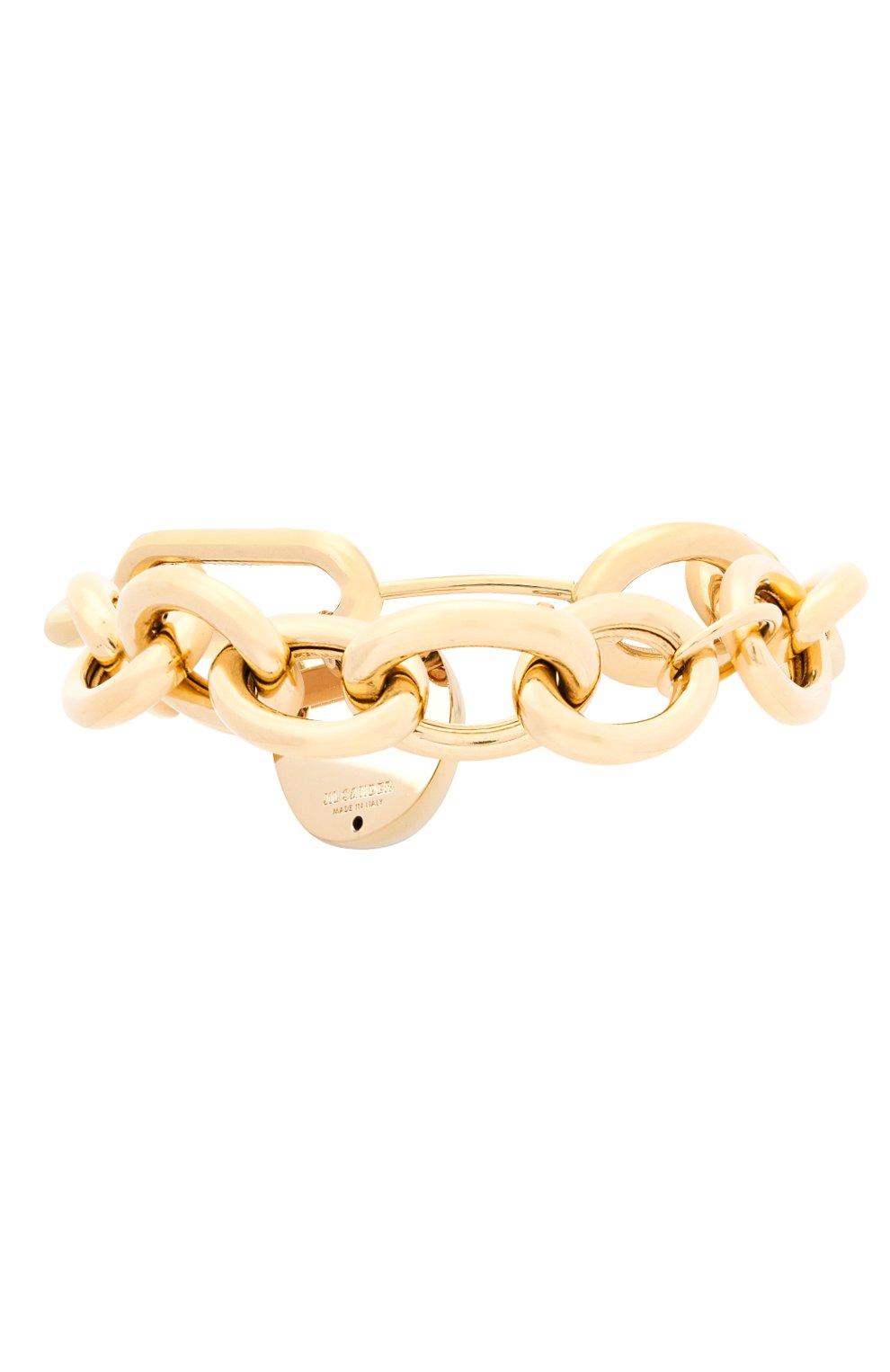 Женский браслет JIL SANDER золотого цвета, арт. JSPR832374/WRS80045   Фото 1