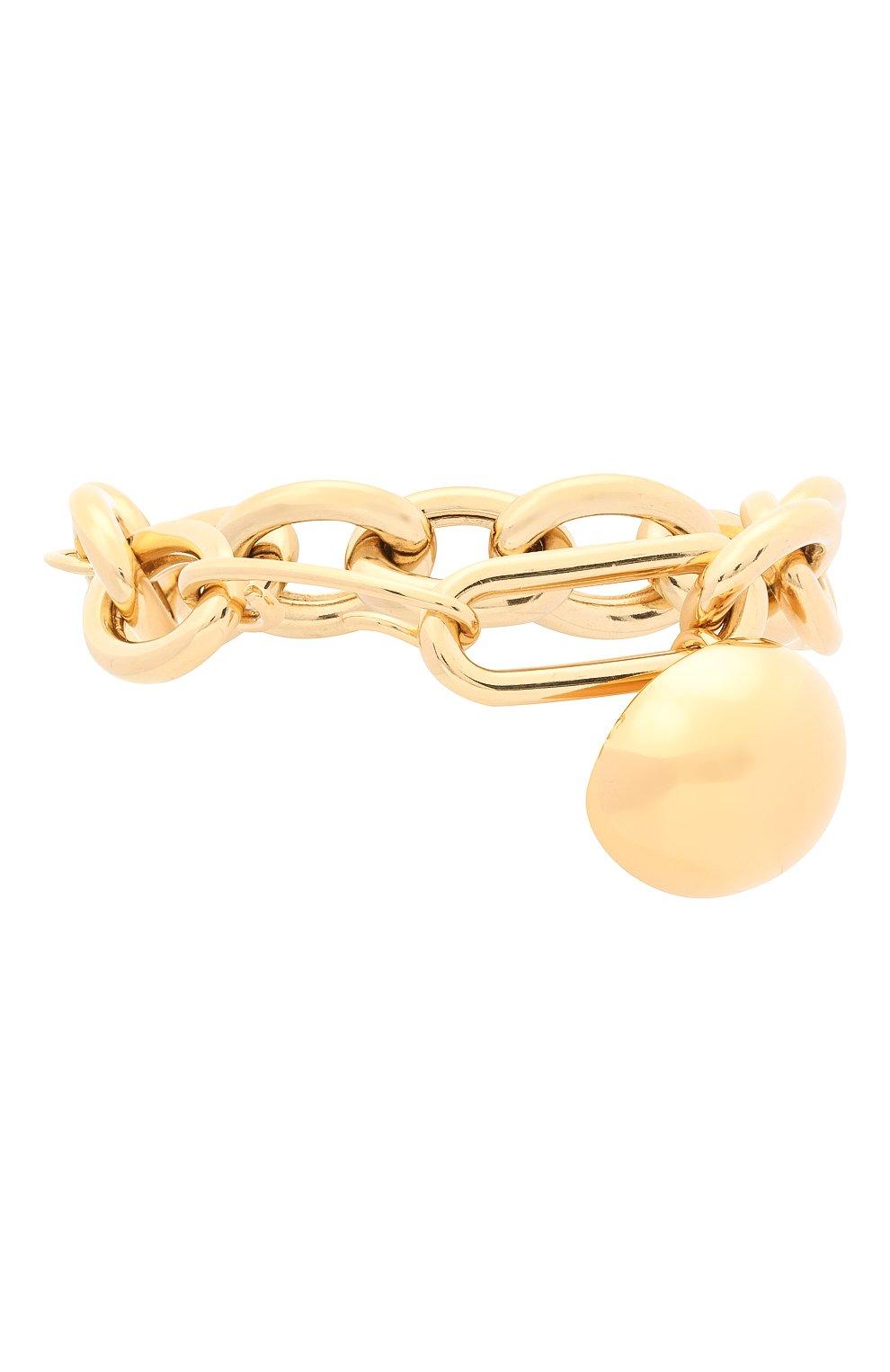 Женский браслет JIL SANDER золотого цвета, арт. JSPR832374/WRS80045   Фото 2