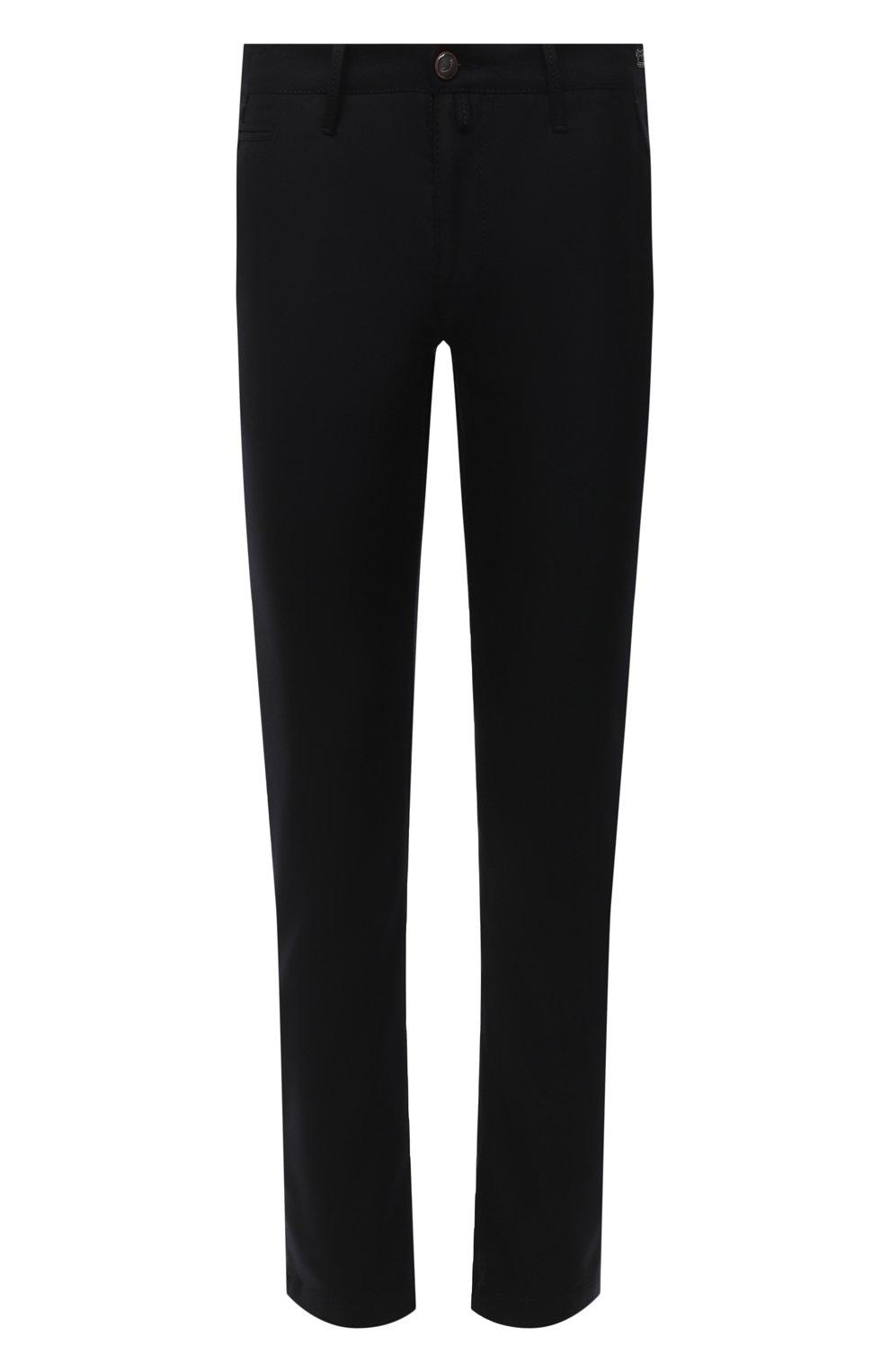 Мужские шерстяные брюки JACOB COHEN черного цвета, арт. B0BBY W00L 06968-N/54   Фото 1
