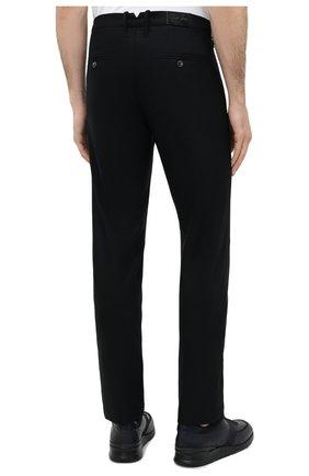 Мужские шерстяные брюки JACOB COHEN черного цвета, арт. B0BBY W00L 06968-N/54   Фото 4