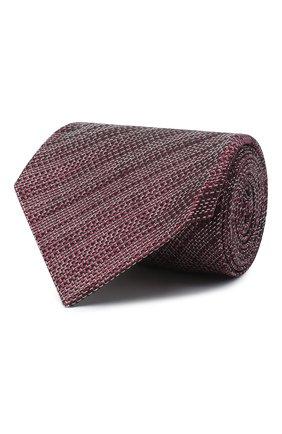 Мужской шелковый галстук TOM FORD красного цвета, арт. 8TF11/XTF | Фото 1 (Материал: Шелк, Текстиль; Принт: С принтом)
