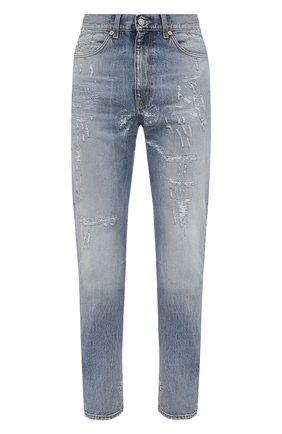 Мужские джинсы GUCCI синего цвета, арт. 623953/XDBEU | Фото 1