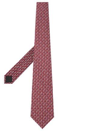 Мужской комплект из галстука и платка LANVIN бордового цвета, арт. 4309/TIE SET | Фото 2