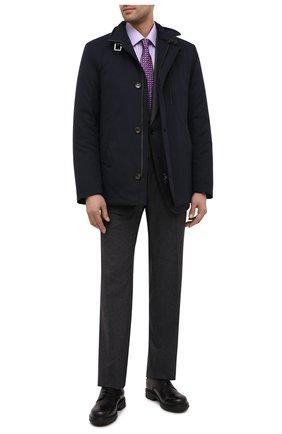 Мужской кожаные дерби ERMENEGILDO ZEGNA черного цвета, арт. A4582X-LHC0I | Фото 2
