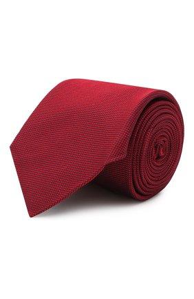Мужской шелковый галстук CORNELIANI красного цвета, арт. 86U302-0820301/00 | Фото 1
