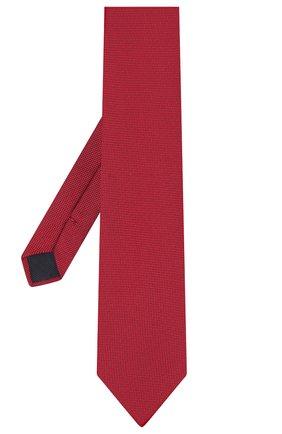 Мужской шелковый галстук CORNELIANI красного цвета, арт. 86U302-0820301/00 | Фото 2