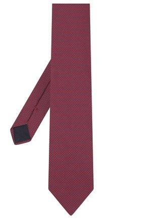 Мужской шелковый галстук CORNELIANI красного цвета, арт. 86U302-0820303/00 | Фото 2
