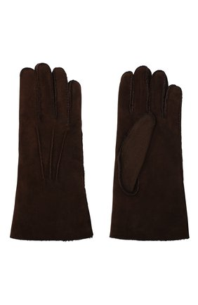 Мужские замшевые перчатки LORO PIANA коричневого цвета, арт. FAL4819 | Фото 2