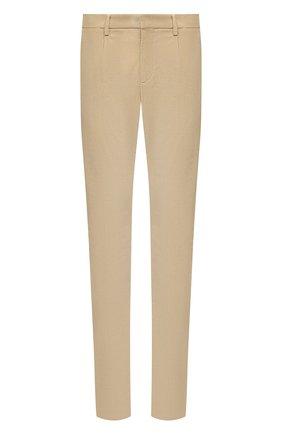Мужские хлопковые брюки LORO PIANA бежевого цвета, арт. FAL4069 | Фото 1