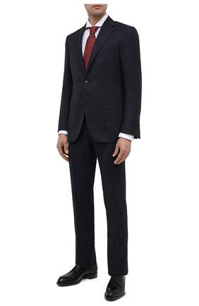 Мужская хлопковая сорочка VAN LAACK белого цвета, арт. RES0-SF/161771 | Фото 2 (Случай: Формальный; Длина (для топов): Стандартные; Стили: Классический; Рукава: Длинные; Материал внешний: Хлопок)