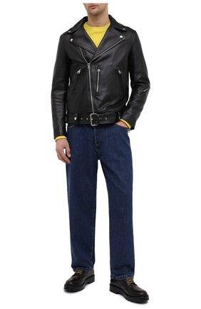 Мужской кожаные дерби SALVATORE FERRAGAMO бордового цвета, арт. Z-07351613E | Фото 2