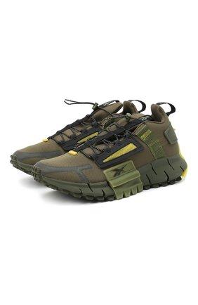 Мужские кроссовки zig kinetica edge REEBOK хаки цвета, арт. FV3836 | Фото 1