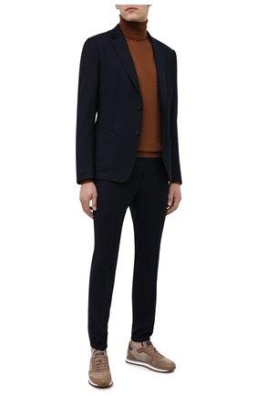 Мужской шерстяной костюм Z ZEGNA темно-синего цвета, арт. 824714/2X7YGW   Фото 1