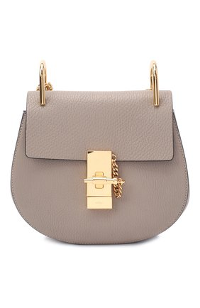 Женская сумка drew small CHLOÉ серого цвета, арт. CHC14WS032944   Фото 1