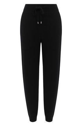 Женские брюки из шерсти и кашемира MRZ черного цвета, арт. FW20-0052 | Фото 1