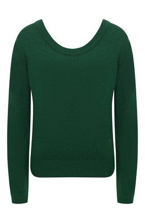 Женский кашемировый пуловер GUCCI зеленого цвета, арт. 628410/XKBB2   Фото 1