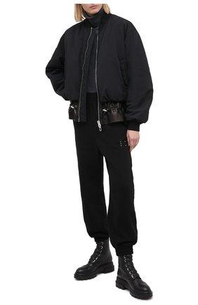 Женские кожаные ботинки AGL черного цвета, арт. D756523BGKD0101013 | Фото 2