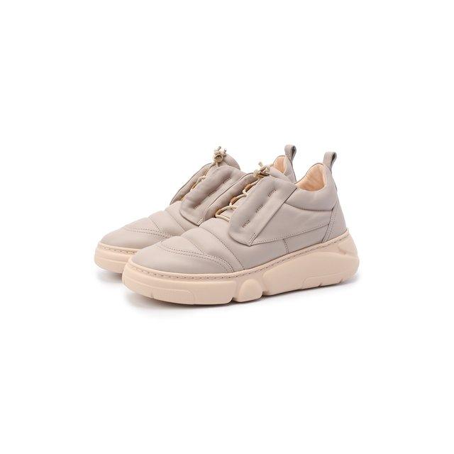 Кожаные кроссовки AGL