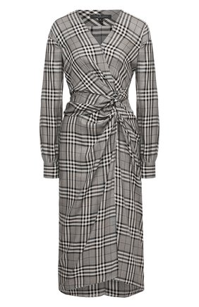 Женское платье из вискозы RAG&BONE черно-белого цвета, арт. WAW20F3064V064 | Фото 1