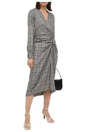 Женское платье из вискозы RAG&BONE черно-белого цвета, арт. WAW20F3064V064 | Фото 2