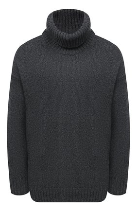 Женский свитер из шерсти и кашемира VALENTINO серого цвета, арт. UB0KC17L5WR | Фото 1