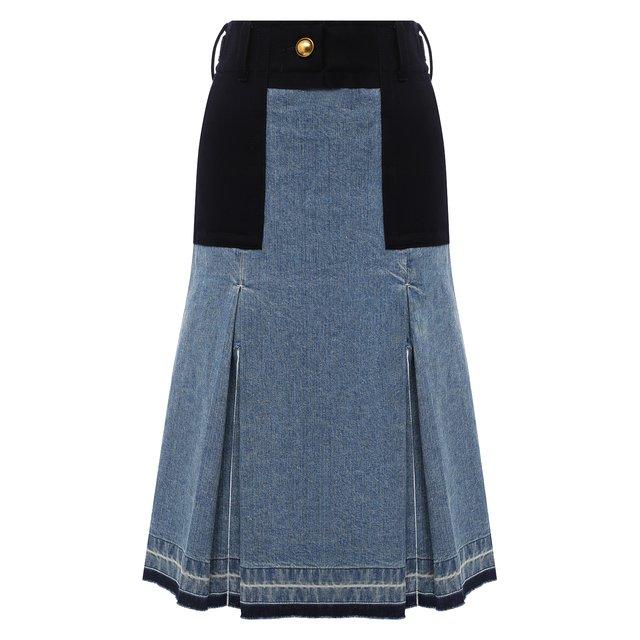 Джинсовая юбка Sacai
