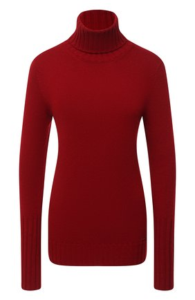 Женский кашемировый свитер KITON красного цвета, арт. D48725536 | Фото 1