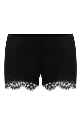 Женские шорты I.D. SARRIERI черного цвета, арт. L3095 | Фото 1