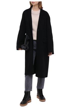 Женские кожаные ботинки h543 HOGAN черного цвета, арт. HXW5430DH50LF7 | Фото 2