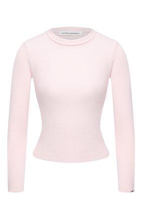 Женский кашемировый пуловер EXTREME CASHMERE светло-розового цвета, арт. 098/KID | Фото 1