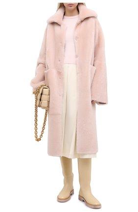 Женский кашемировый пуловер EXTREME CASHMERE светло-розового цвета, арт. 098/KID | Фото 2