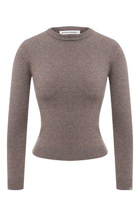 Женский кашемировый пуловер EXTREME CASHMERE коричневого цвета, арт. 098/KID   Фото 1