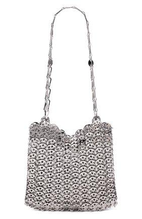 Женская сумка iconic 1969 PACO RABANNE серебряного цвета, арт. 19ESS0007MET001 | Фото 1