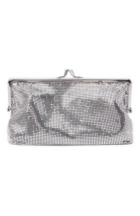 Женский клатч pixel ii PACO RABANNE серебряного цвета, арт. 20ASS0194MET004 | Фото 1